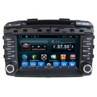 In Dash Car Multimedia System Auto DVD Player GPS Android Quad Core Sorento 2015 Manufactures