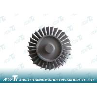 Titanium Turbine Wheel High Temperature Alloy Casting For Off Gas Turbine Manufactures