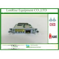 Cisco HWIC-1GE-SFP-CU 1 Port Dual Cisco Network Modules SFP Or RJ45 CiscoCard Manufactures