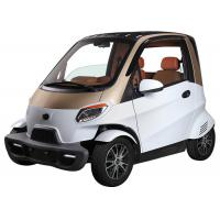 China Remote Central Local Small Electric Cars , 60V 4000W Motor White Electric Car on sale