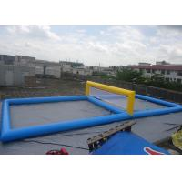 China CE Outdoor Leisure Inflatable Sports Games Customized Removable Tennis Court on sale