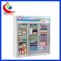 Upright Beverage Showcase Refrigeration Equipment Refrigerator Display Cooler Manufactures