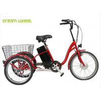 36V 350W Electric Mobility Scooter ,Tricycle Cargo Electric Bike Pedal Assist Manufactures