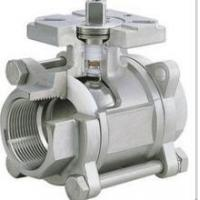 Quality 3-pc stainless steel ball valves full port 1000wog BSPP NPT ISO-5211 DIRECT for sale