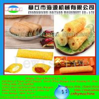 Buy cheap 200-250kg/h 2015 NEW Automatic twin screw extruder food snacks machine from wholesalers