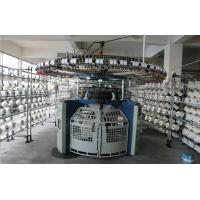 Four Tracks Technical Fabric Knitting Machine 3F 3.2F 4F Wide Needle Butt Design Manufactures
