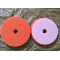 Sponge Foam Wool Buffing Pad , Automotive Buffing Pads With Center Hole Manufactures