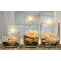 Heatless Flameless LED Submersible Light , Yellow Submersible Led Tea Light Candle Manufactures