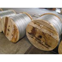 High Voltage Transmission Lines Galvanized Wire Cable Increase The Tensile Force Manufactures