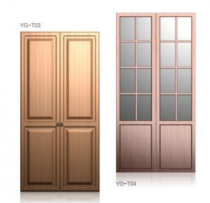 Classic Soft Close Hinges Wardrobe Hinged Doors , Bedroom Closets And Wardrobes