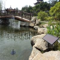 Brushless solar water fountain pump Manufactures