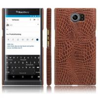 Blackberry priv crocodile pattern PU leather phone case , cellphone back cover shell for Blackberry Manufactures