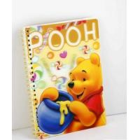 OK3D Manufacture High Quality Customized 3d lenticular notebook cover printing service with pp pet book cover Manufactures
