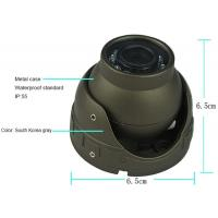3.6mm In Car CCTV Camera System , IR Lens Audio Mini Security Camera System Manufactures