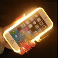 LED Light Up Selfie Phone Case , Illuminated Iphone Case For  IPhone 6 / 6 S Plus Manufactures