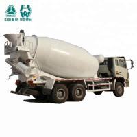 Compact Biggest Concrete Mixer Truck With Heavy Reduction Drive Axle Manufactures