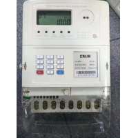 China IP54 RF Communication 2W Three Phase Electricity Meter on sale