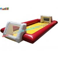 Inflatable Football Sports Games with durable PVC tarpaulin material for rent, re-sale use Manufactures