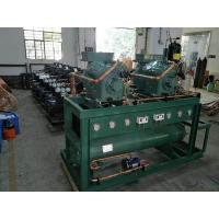 China 60 HP Low Noise Air Cooled Cold Storage Condensing Unit For Food Factory on sale