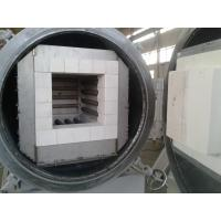 32L Lab Vacuum Box Furnace Metal Mantle Body Fully Sealed With Four Sides Heating Manufactures