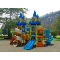 Fashion Customized Design Plastic Outdoor Playground Hot Sale Castle Theme Outdoor Playground For Preschool Manufactures
