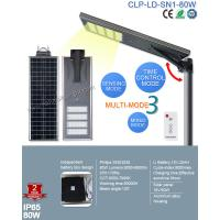 2017 Top Sale Outdoor IP65 Bridgelux 80W LED Solar Street with Patent Smart MPPT Controller Manufactures