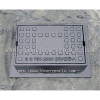 Grey iron solid top surface box for hydrants and stop-taps 140 x 115mm with captive hinge lid