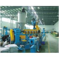 Triple Layers Co-Extrusion Cable Extrusion Line Machine Type are HR-Φ70+Φ40+Φ35, HR-Φ80+Φ50+Φ40 and HR-Φ90+Φ50Φ40