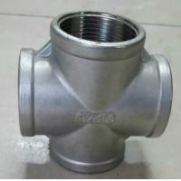 DN15 5 Way Cross Hot Galvanized Malleable Iron Pipe Fitting Manufactures