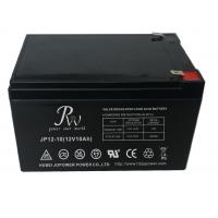 China 12V 10AH Alarm System Battery , AGM Valve Regulated Rechargeable Battery on sale