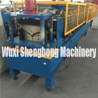 China PLC Control Metal Roofing Ridge Tile Roll Forming Machine for Industrial on sale