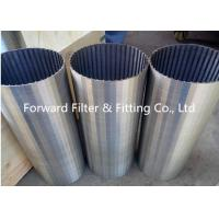 China Galvanized / Carton / Stainless Steel Wedge Wire Screen For Mine Sieving Mesh wholesale