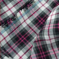 100% Cotton Yarn-dyed Fabric/Flannel for Shirts, Tear-resistant Manufactures