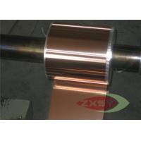 Casting Oxygen Free High Conductivity Copper Foil , Copper Metal Sheets Manufactures