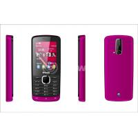 2.8 Inch Bar GPRS Mobile Phone with plastic cover and Dual Sim Cards Manufactures