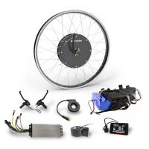 72v3000w high torque brushless hub dc motor ebike kit with brake sensor and tft color display Manufactures