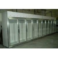 China Glass Sliding Door Commercial Beer Coolers 0 - 10 Degree Fan Cooling For Shop wholesale