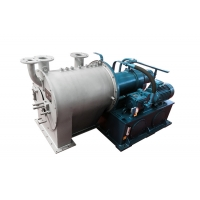 China Horizontal PP Sulzer Double Stage Salt Dewatering Centrifuge Equipment For Industrial on sale