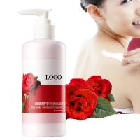 Natural Rose Oil Body Lotion , Moisturizing Body Lotion Provides Barrier Protection Manufactures
