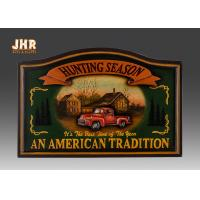 Antique Wall Pub Sign Wooden Wall Plaques Decorative Animal Wall Art Signs Resin Car Manufactures
