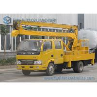 14M Articulated Booms High Altitude Operation Truck IVECO Yuejin Double Row Cabin Manufactures
