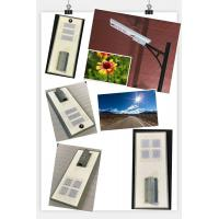 60w 80w  all in one solar street light lamp fixture road garden yard motion sensor 12V customized any style post garde Manufactures