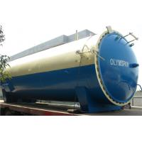 Industrial Vulcanizing Autoclave with hydraulic cylinder and safety valve Manufactures