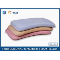 Adorable Nursing Memory Foam Baby Pillow With Soft Bamboo Fiber / Jacquard Velour Manufactures