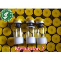 White Lyophilized Peptide Hormone MT-2 Melanotan 2 For Skin Tanning Manufactures