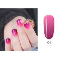 Custom Color Mood Changing Gel Nail Polish LED Light 30s 60s Long Lasting Soak Off Manufactures