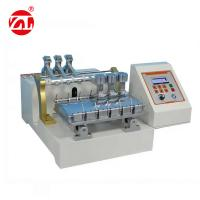 Stain Abrasion Resistant Leather Testing Machine For Clothing / Luggage Manufactures
