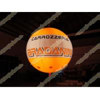 Buy cheap Fireproof Helium advertising balloons, UV protected printing Advertising Helium from wholesalers