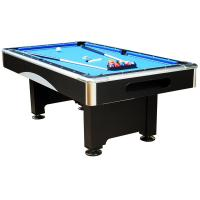 Chromed coner 7 FT Electronic Billiard Table with Flash and Busic wood pool table Manufactures