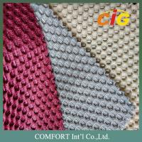 Contemporary Home Textile Fabric 100% Polyester Mesh Fabric Colorful For Chair / Bed Manufactures